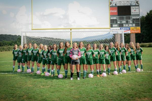 Girls Soccer Team 2018
