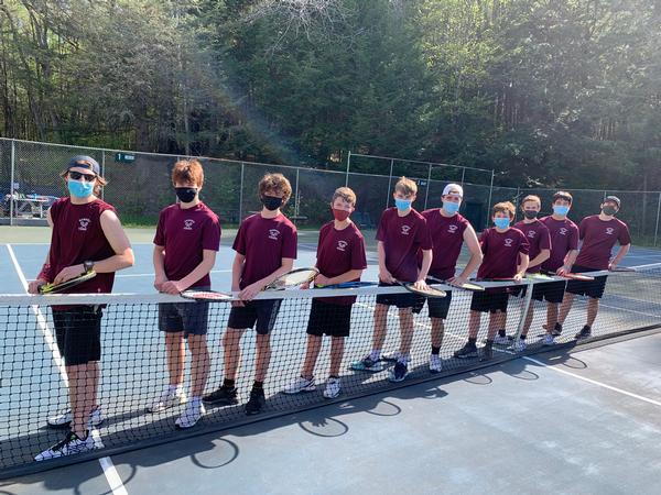Tennis JV Boys 2021