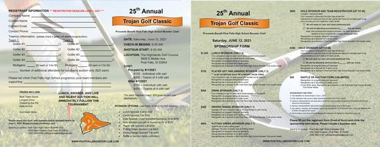 Trojan Classic Golf Fundraiser June 12, 2021